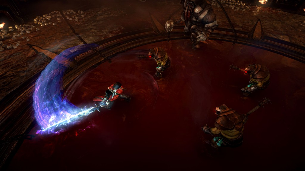Fighting in pools of blood? Check.