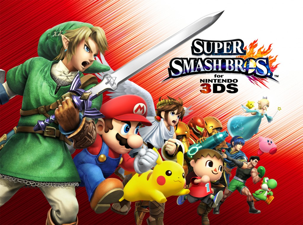 Keen to get an early look at super smash bros for nintendo 3ds