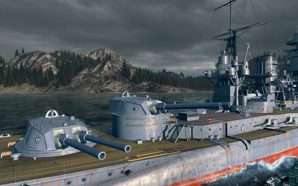 The detail on every aspect of the ship is immense.