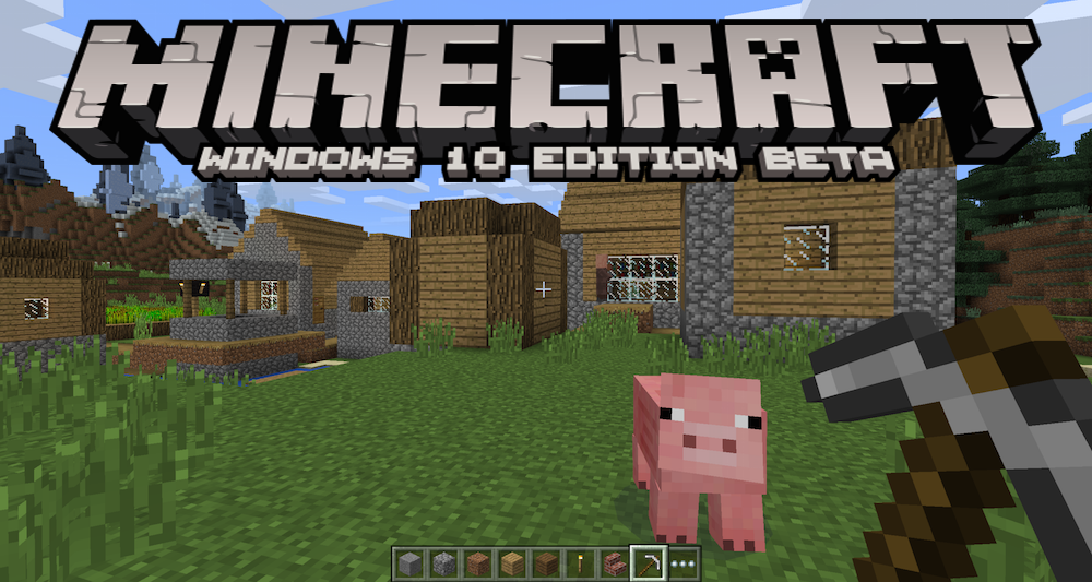 Mincraft-Windows-10-Banner
