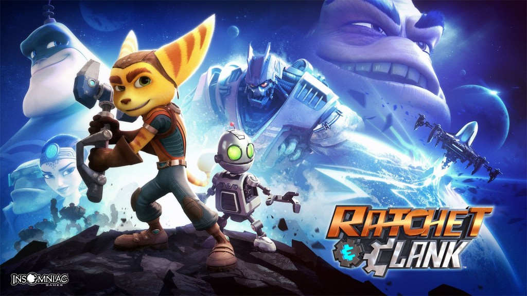 Ratchet & Clank Banner
