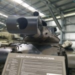 US Patton medium tank
