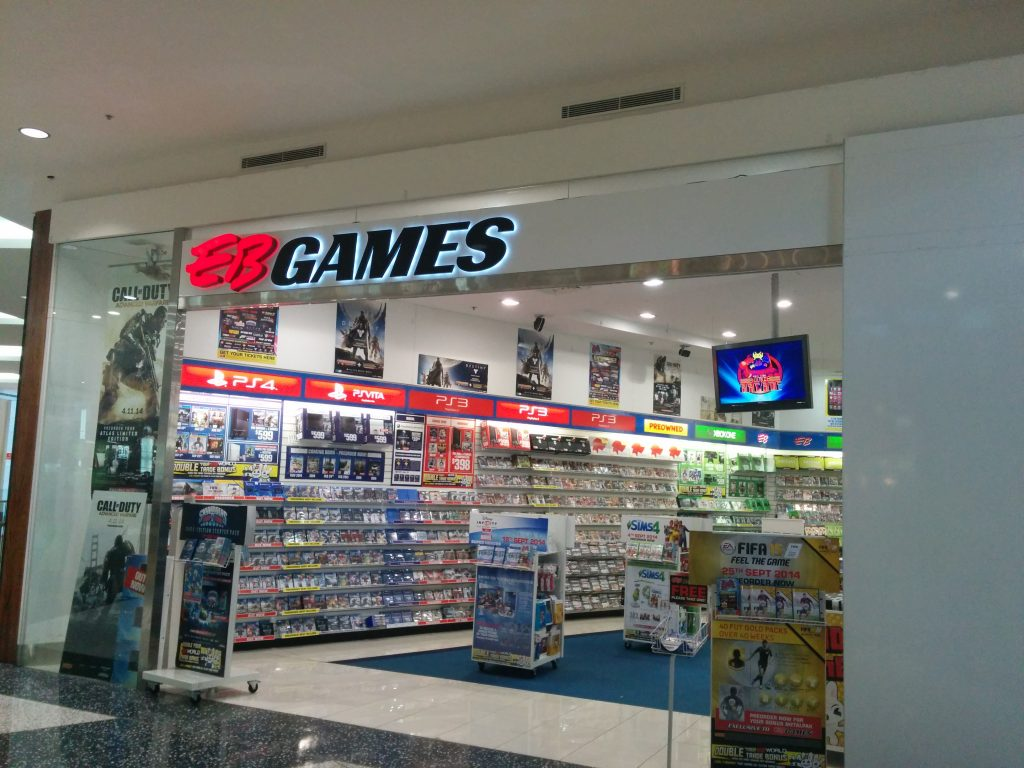 EB Games Banner