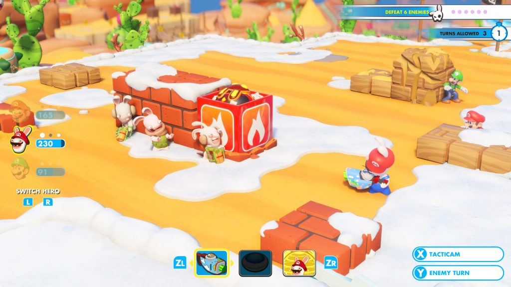 Mario + Rabbids Kingdom Battle - Crate