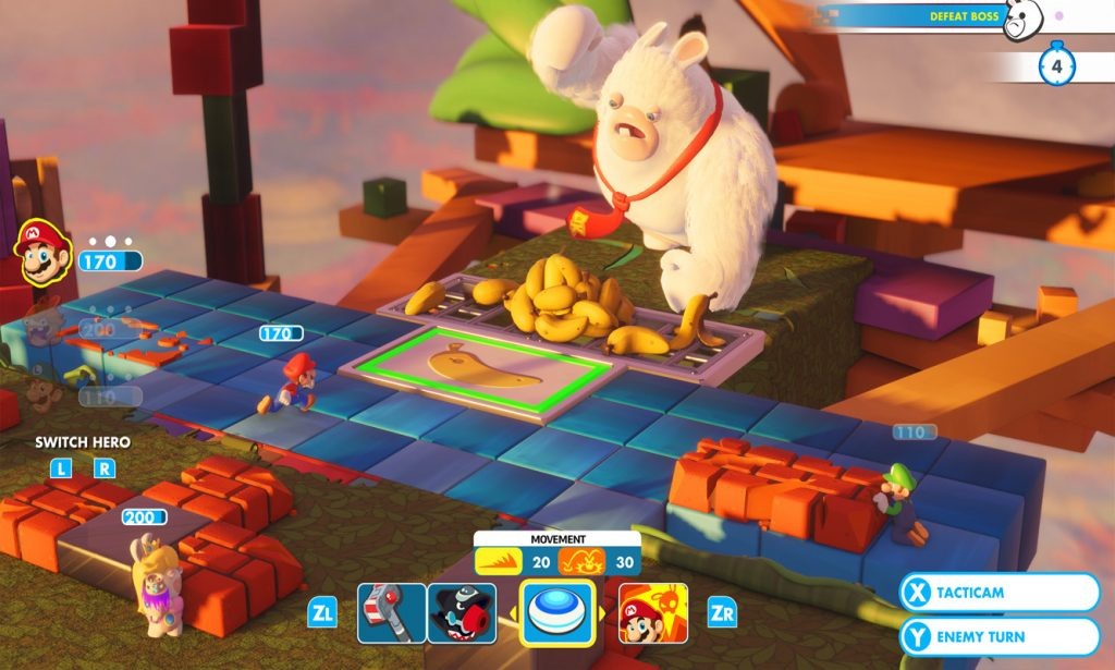 Mario + Rabbids Kingdom Battle - Kong