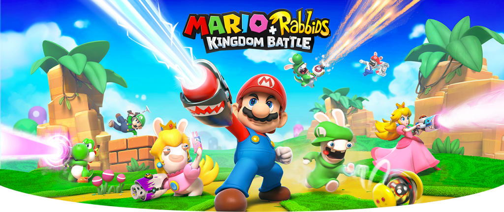 Mario Rabbids Kingdom Battle - Banner