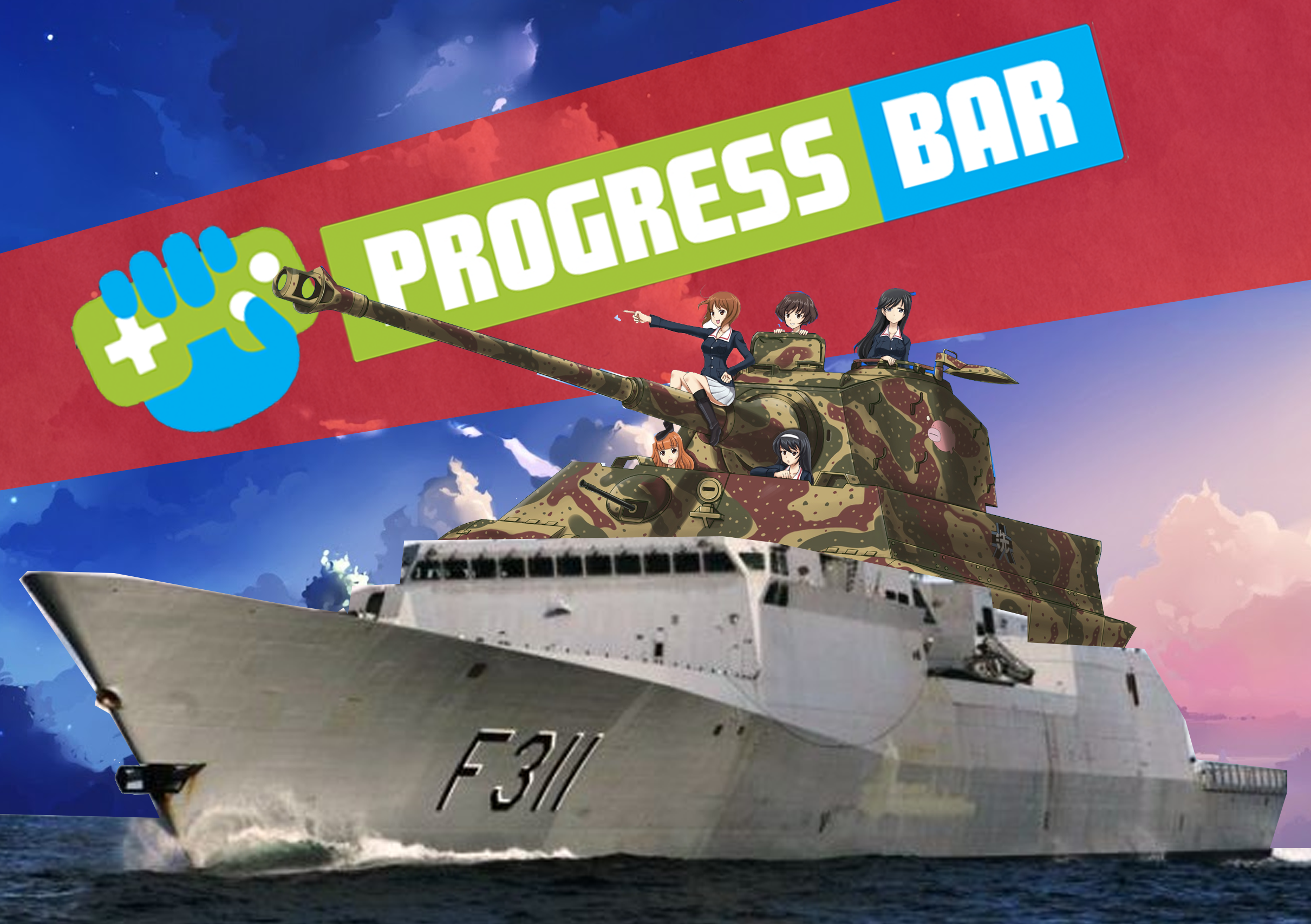 Progress Bar Und Panzer