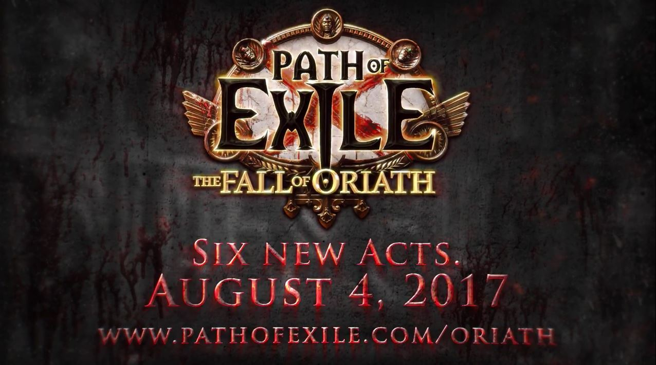 Path of Exile Fall of Oriath