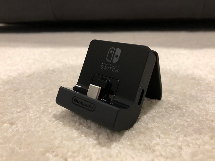 First Look Nintendo Switch Adjustable Charging Stand