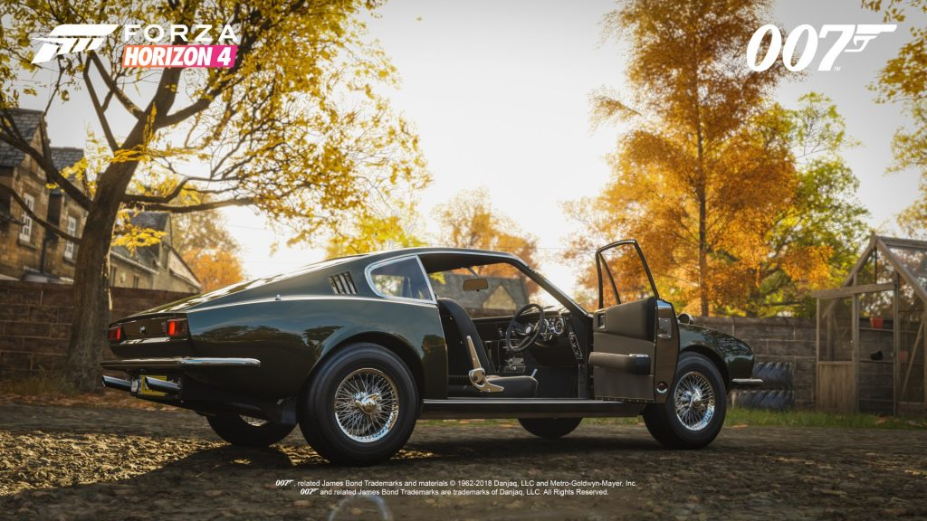 FH4 Best of Bond Aston Martin DBS 1969