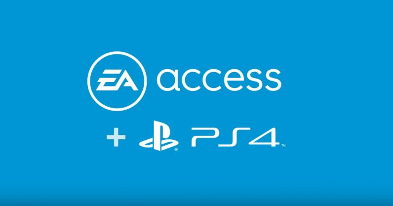 EA Access Now Available on PS4 | Progress Bar